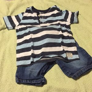 Boy's Short Set